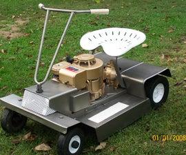 Antique Mower Restoration