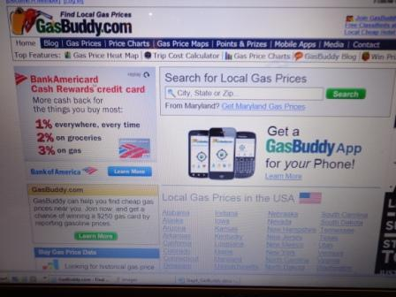 Picture of Find and Buy the Cheapest Gas.