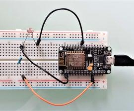 ESP8266 Light Sensor