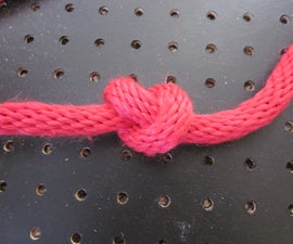 Part 1 of my knot series: The Overhand Knot