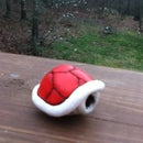 How to make a red turtle shell from Mario