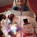 5 min cheap & ugly Christmas sweater