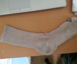How to wear a sock