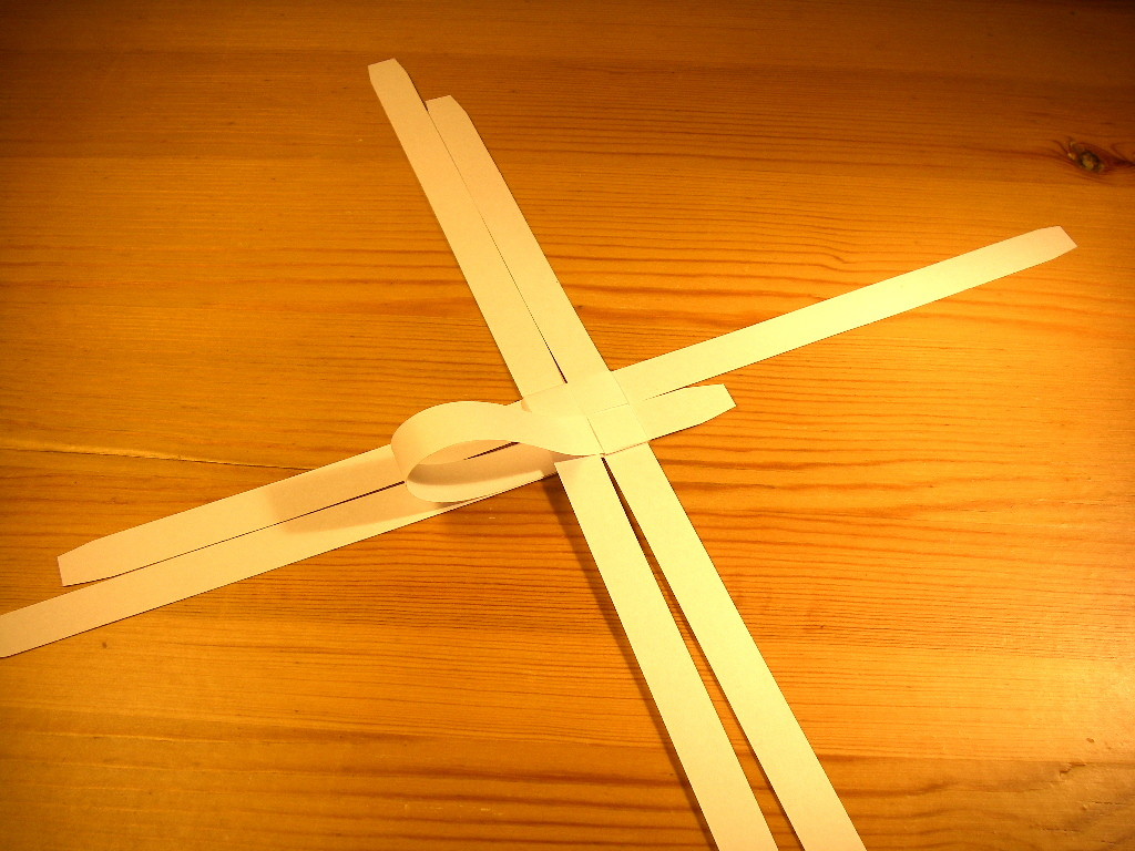 Picture of Extending the Base Knot (final Tuck)