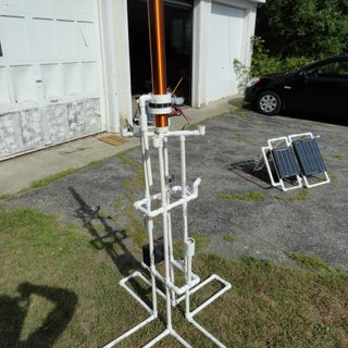 Pipe Dream: a Low Voltage Tesla Coil or 'Slayer Exciter'