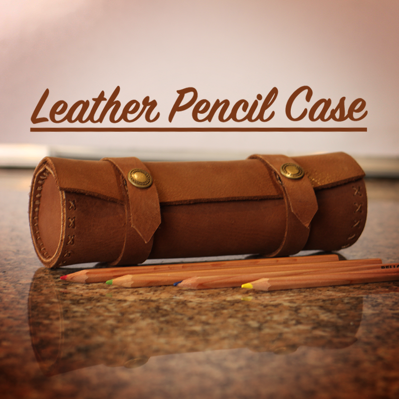 Picture of Leather Pencil Case