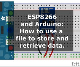 Arduino IDE: How to Store and Retrieve Data From a File.