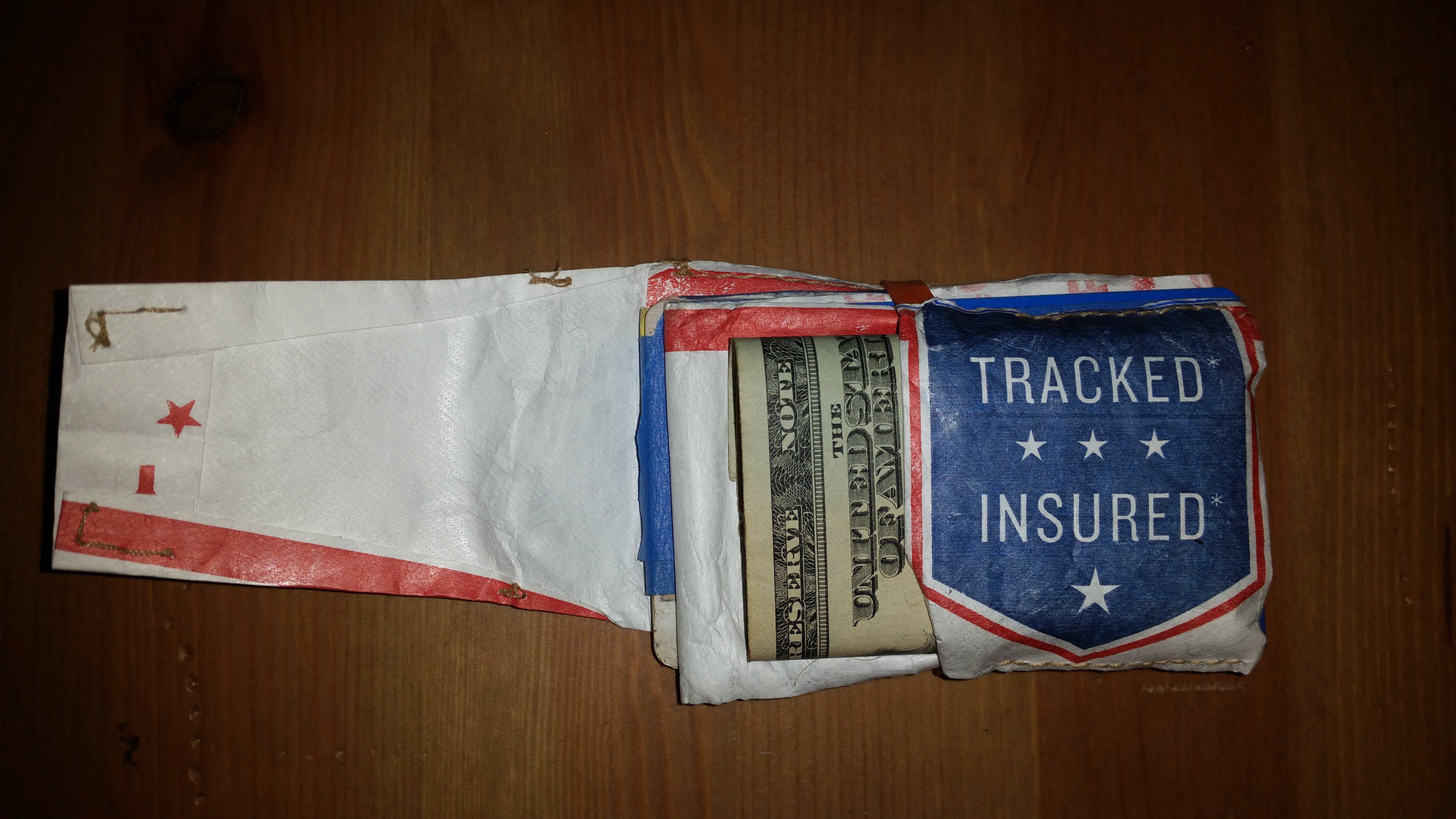 Picture of The Tyvek Wallet Is the Same Thing