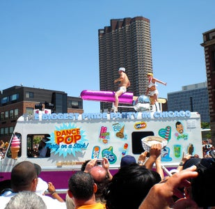 """Cleverly """"Naughty"""" Gay Pride Parade """"Ice Cream Truck"""""""