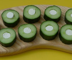 Filled Cucumber Rounds