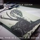 Customized Dragon Kindle cover