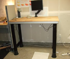Quick Electric Sit-to-Stand Desk