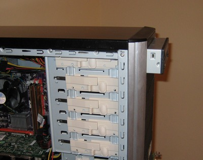 Picture of Install Your Drives: Optical Drive