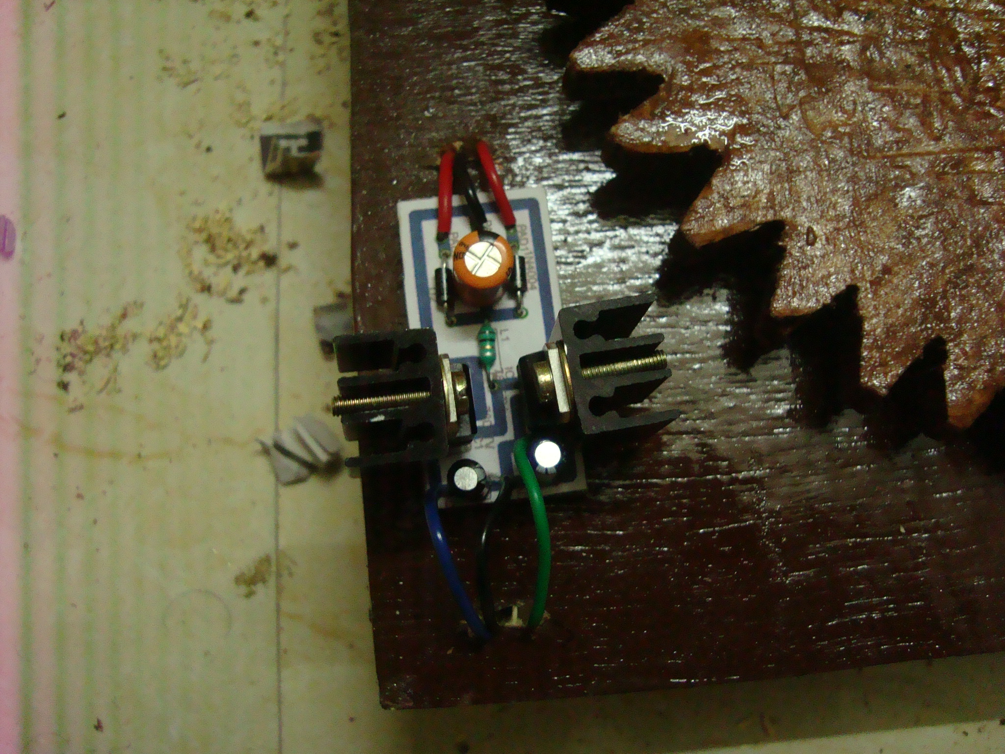 Picture of Placing the Power Supply