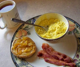 A Good, Quick Breakfast for the Single Guy