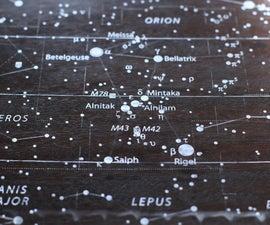 See Through Star Map