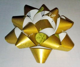 Gift Bows (from recycled paper)