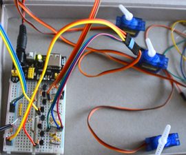 Control Up to 4 Servo Using a Smartphone or Any Device With an Audio Output