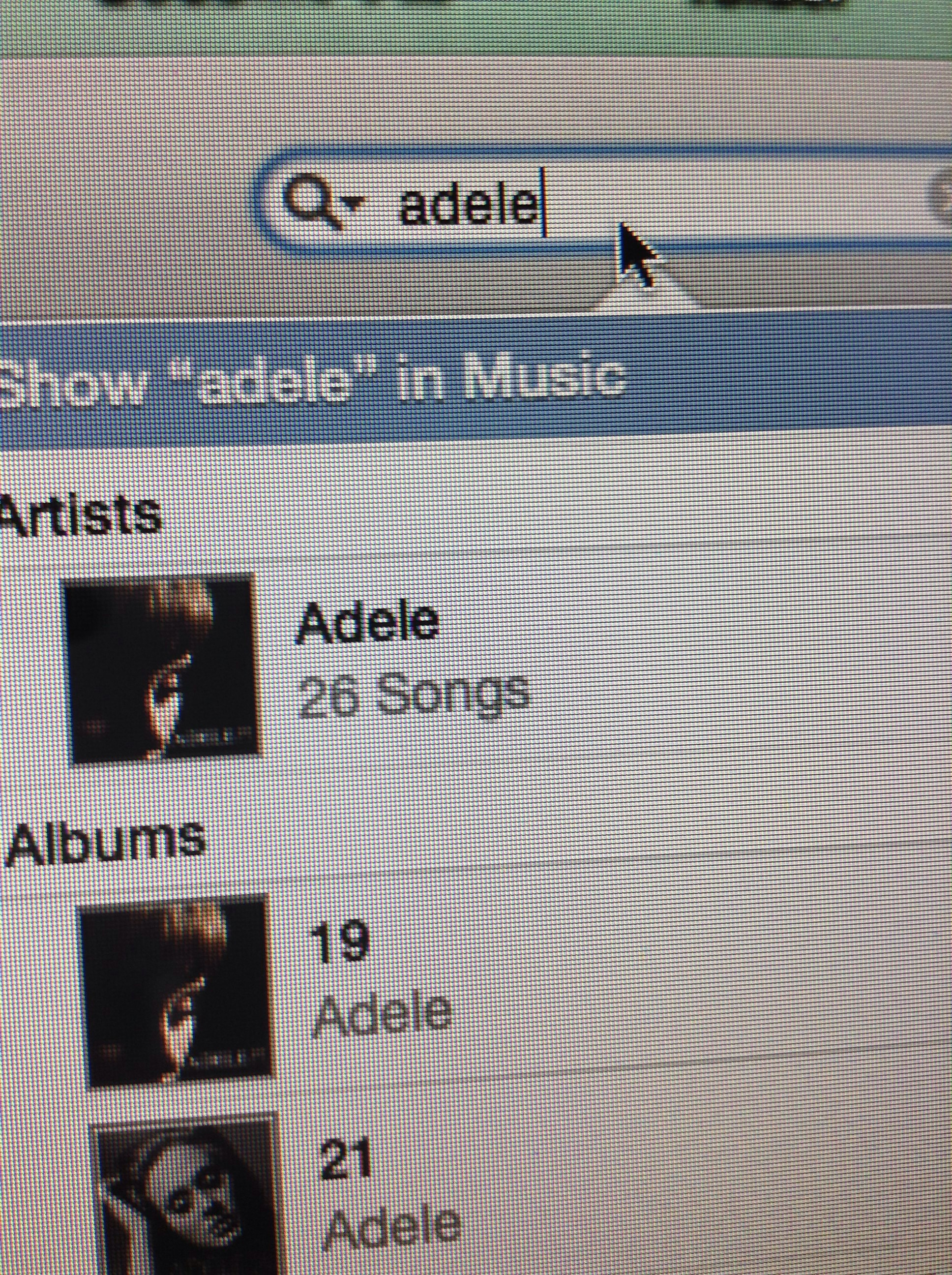 Picture of Play an Adele Song