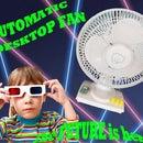 Automatic desktop fan