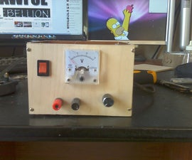 Homemade LM317 Bench Power Supply