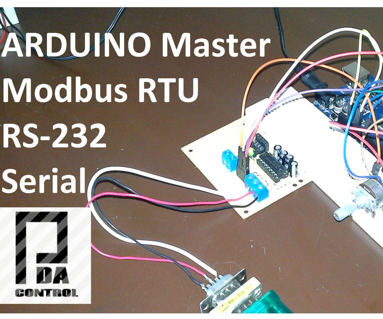 Modbus RTU Master With Arduino Via RS232 : 3 Steps