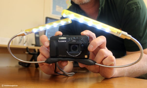 Create a Macro Lighting Rig for Compact Cameras