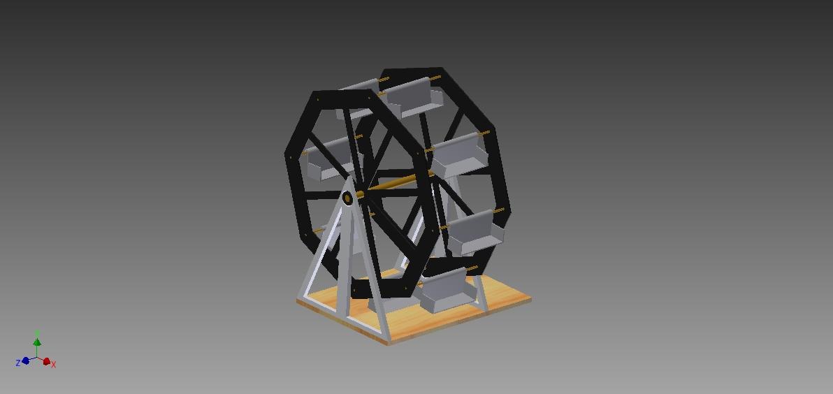 Picture of Desktop Ferris Wheel