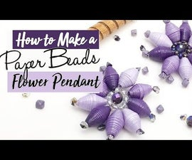 Paper Bead Flower