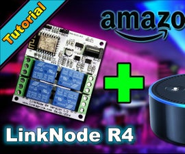 DIY Home Automation with ESP8266 (Linknode R4) and Amazon Alexa