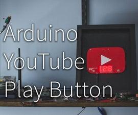 Arduino YouTube Play Button