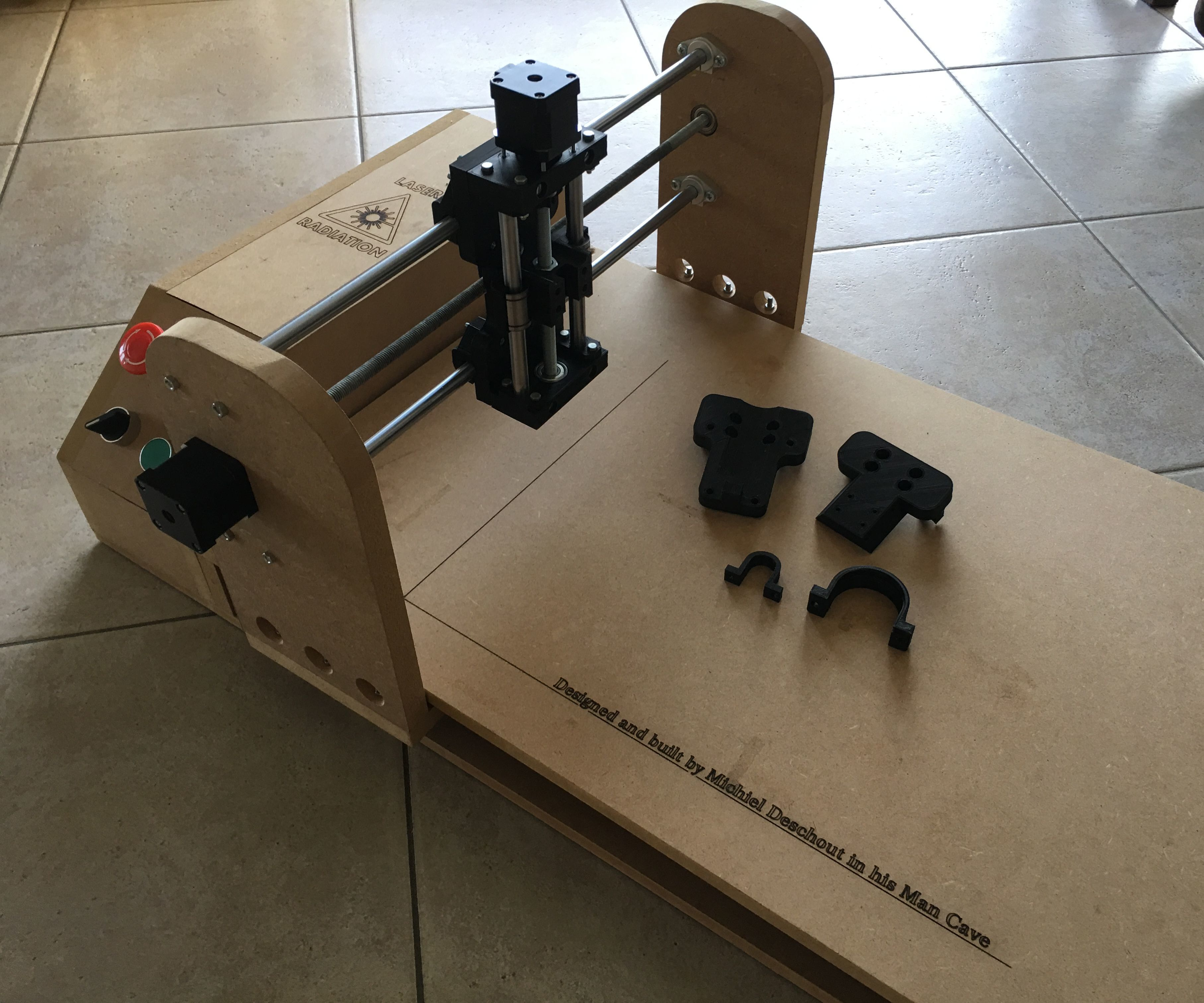 Make a Z-axis for Your Laser Engraver!: 4 Steps (with Pictures)