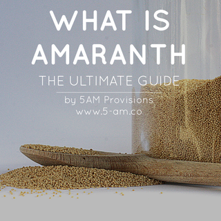 Popped Amaranth Cereal