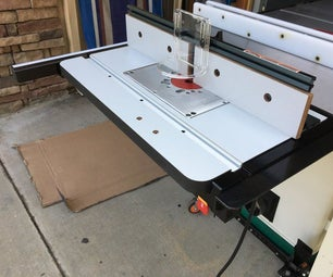 Router Table for Tablesaw
