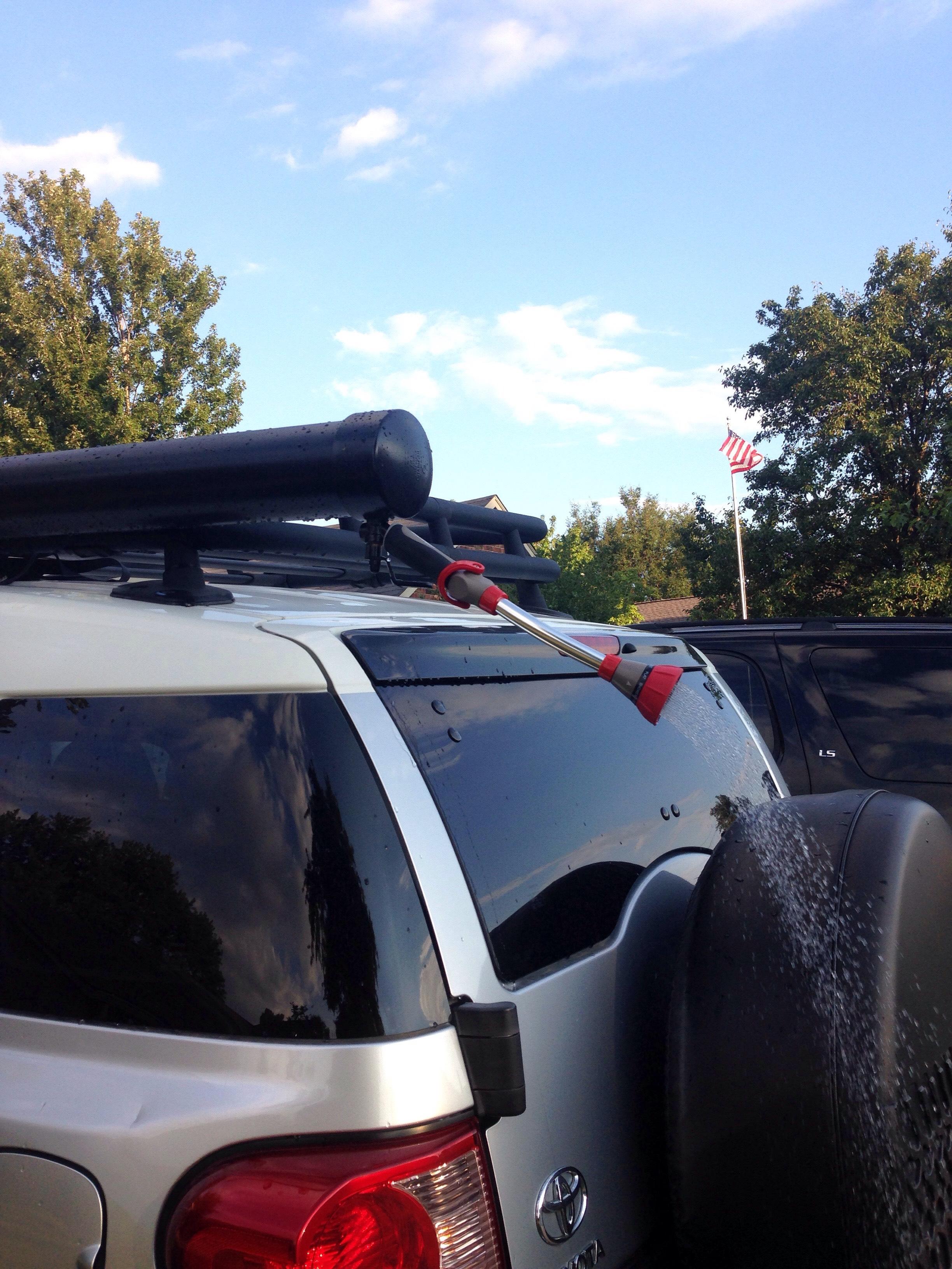 Picture of Roof Rack Shower for Outdoor Activities