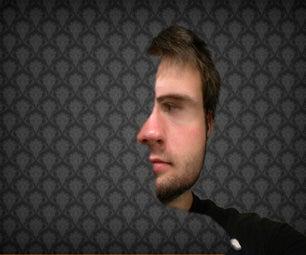 Creepy Double Face Illusion