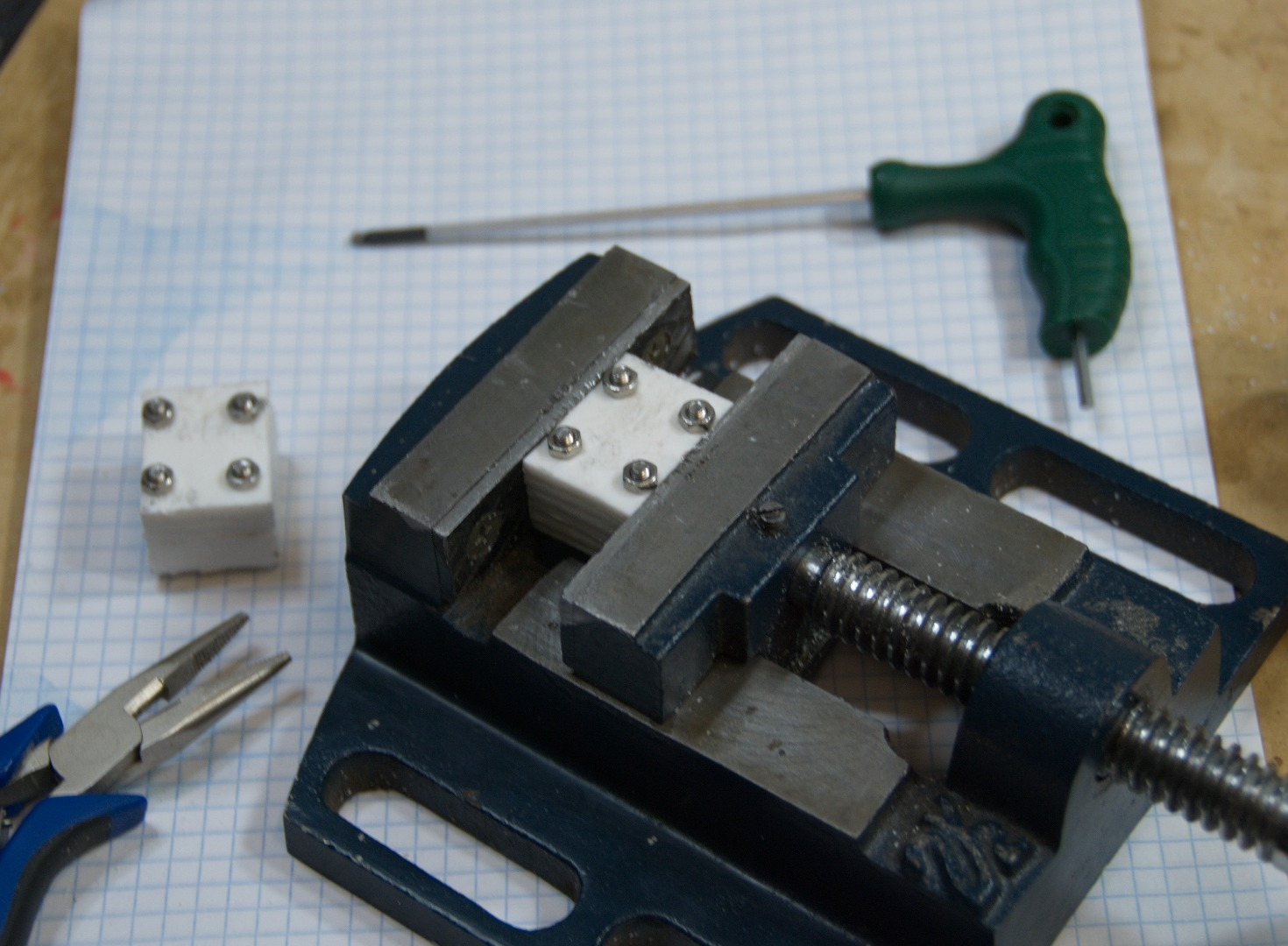 Picture of Z-axis Motor Couplings (clamps)