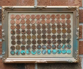 DIY Ombre Penny Art Project!