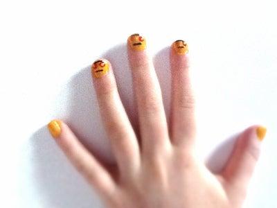 Instructables Robot Nail Art!
