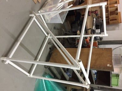Build the Frame of the Pinball Machine Using PVC Frame
