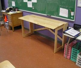 MORE NOMAD FURNITURE: a Folding Desk