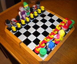 Classic Video Game Chess Set