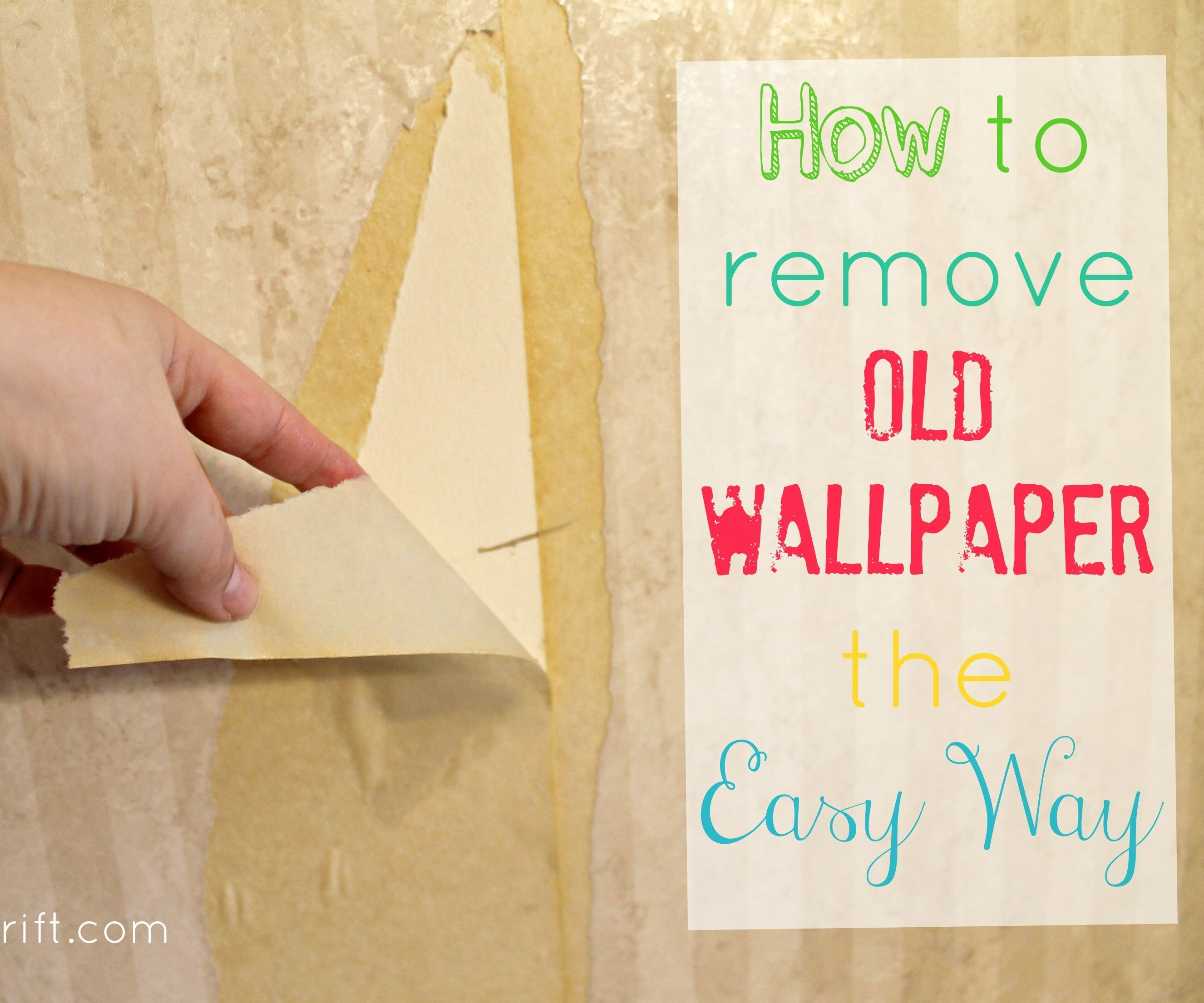 How To Remove Wallpaper The Easy Way 5 Steps With Pictures