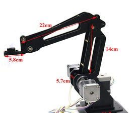 Using Arduino to Design 3 Dof Robot Arm for 3d Printer, Writing, and Laser Engraving