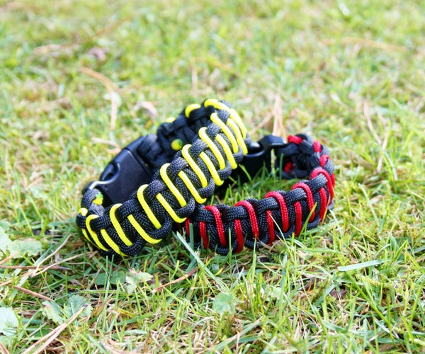 Easy Paracord Bracelet - Advanced Cobra