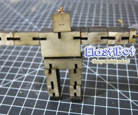 Elasti-Bot: the Posable Wooden Robot