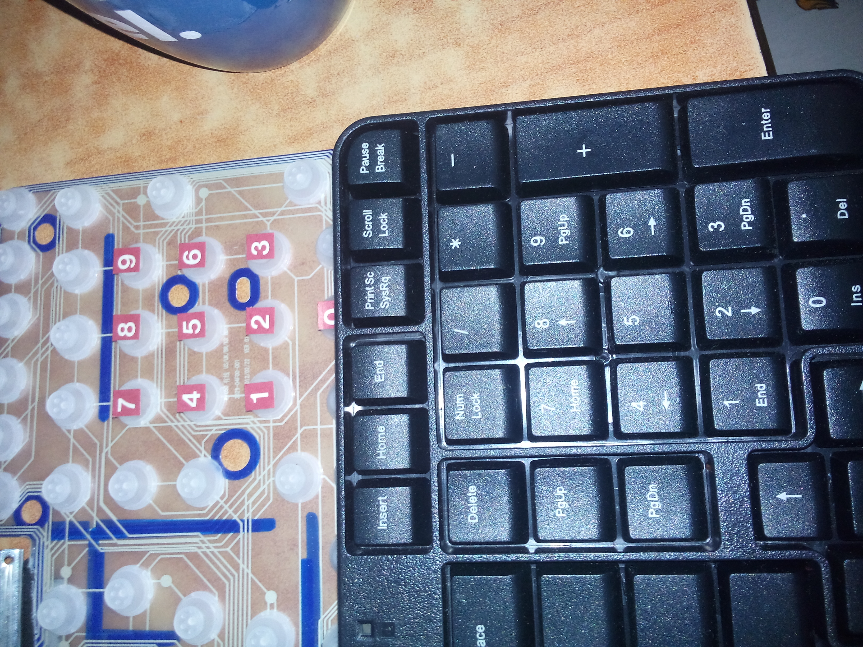 Picture of Letter and Number the Keyboard
