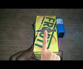 How to Make Sanding Machine From Empty Frooti Tetra Pack