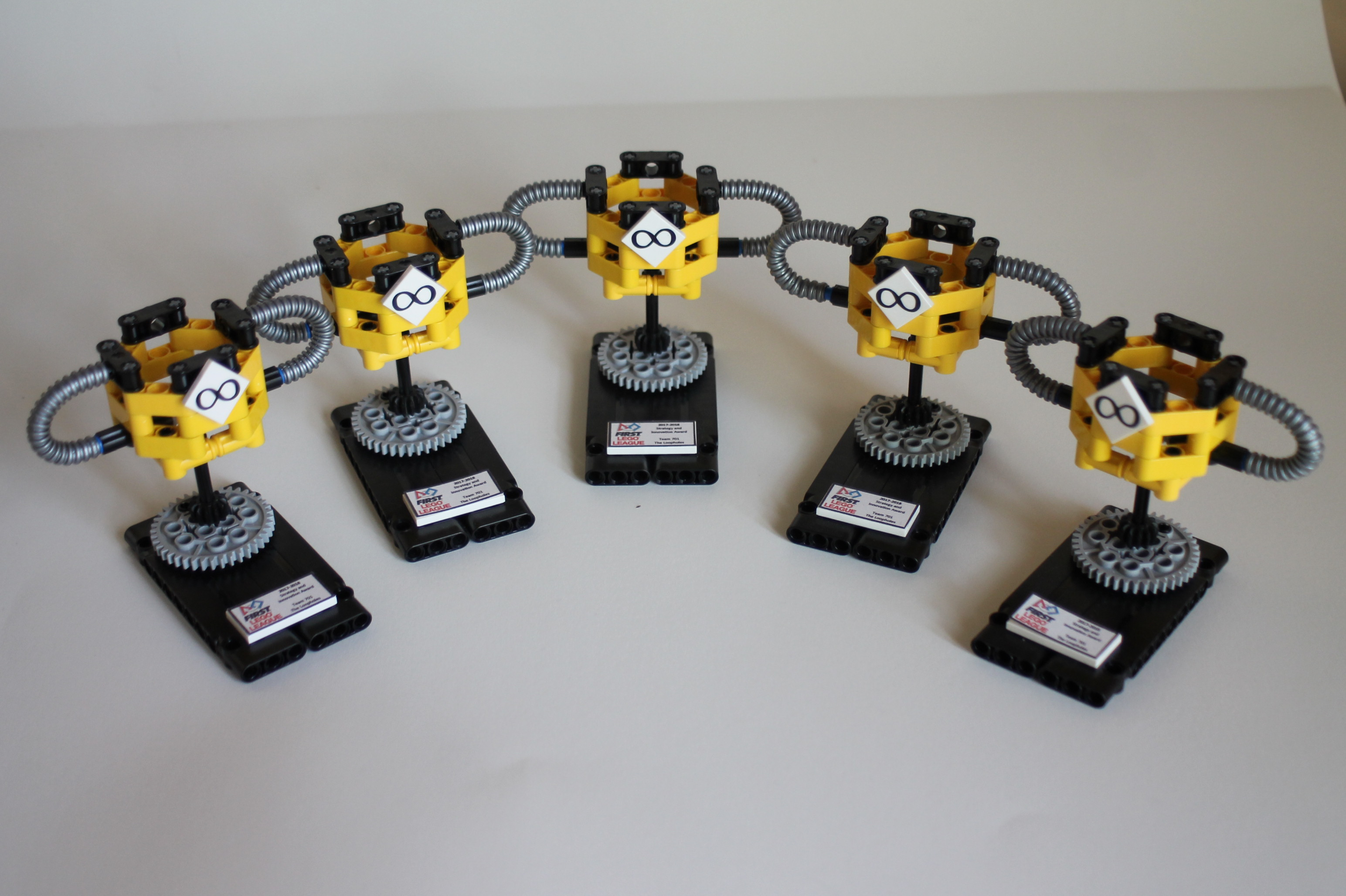 Picture of Mini First Lego League Trophy