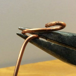 Turn the Wire Guide Loops